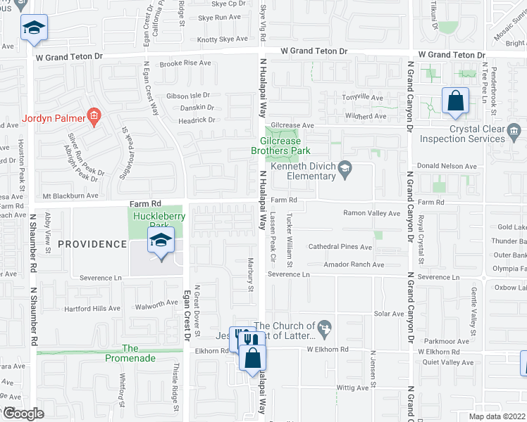 map of restaurants, bars, coffee shops, grocery stores, and more near 7539 Whitman Colonial Street in Las Vegas