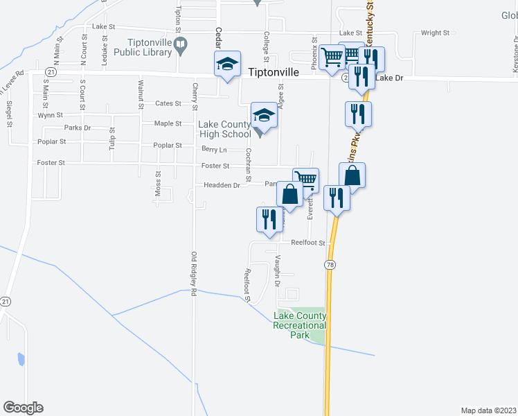 Dixon Tennessee Map.927 Dixon Street Tiptonville Tn Walk Score