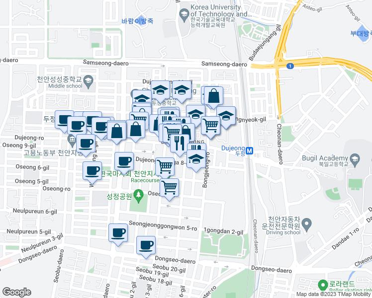 Cheonan Chungcheongnam-do - Walk Score