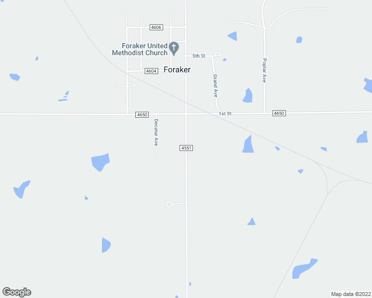 Foraker Road Osage County Ok Walk Score