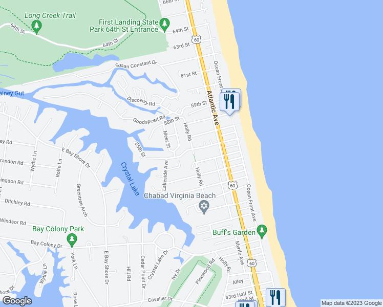 Bike Routes Virginia Beach