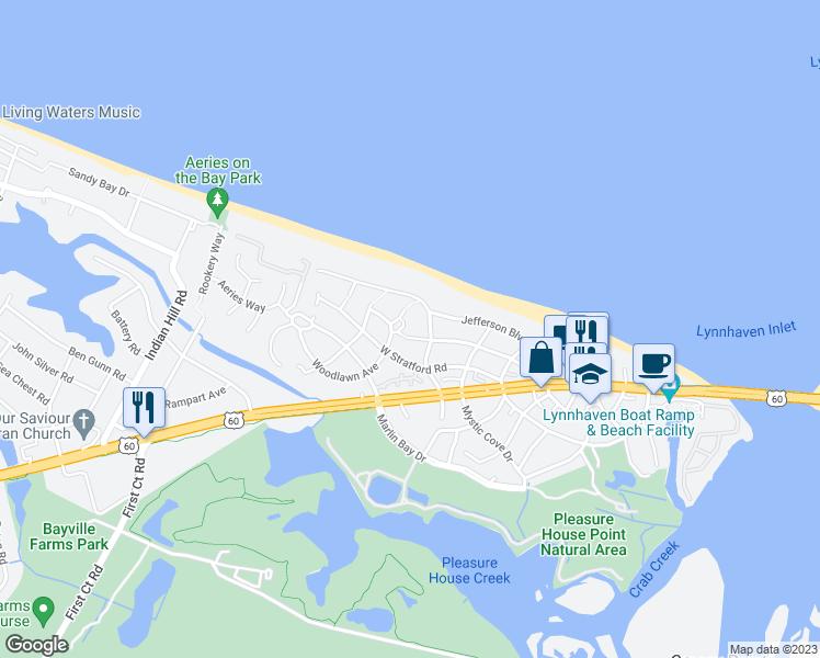 Restaurants Near Woodlawn Beach