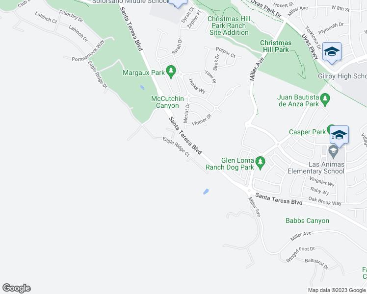 Christmas Hill Park Map.6640 Eagle Ridge Court Gilroy Ca Walk Score
