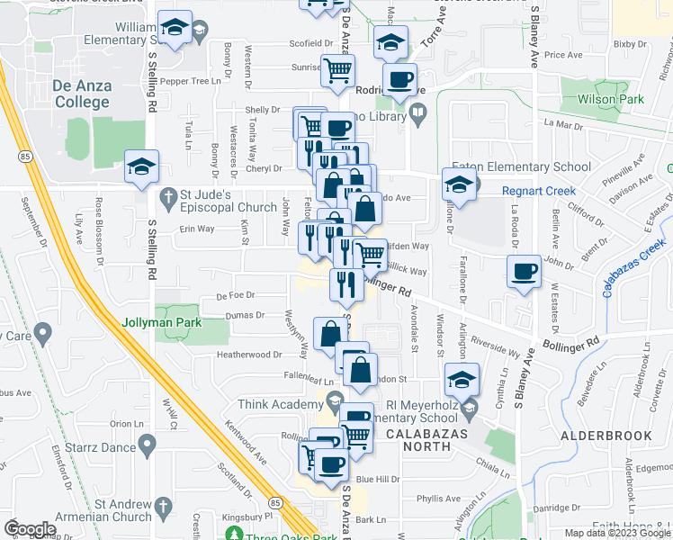 10745 South De Anza Boulevard, Cupertino CA - Walk Score on