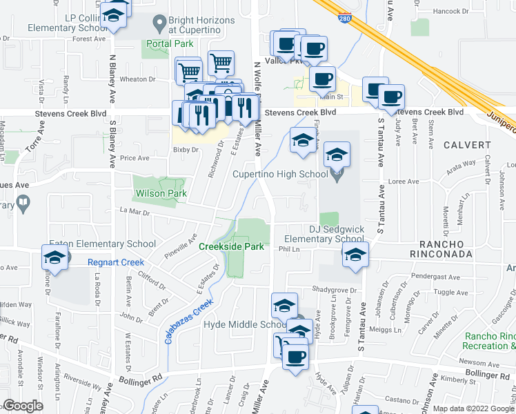 10352 Greenwood Court, Cupertino CA - Walk Score on mt hamilton ca map, livermore ca map, carpinteria ca map, tulare ca map, gardena ca map, newark ca map, east porterville ca map, anchor bay ca map, monterey park ca map, las vegas ca map, chicago ca map, hacienda ca map, industry hills ca map, rio del mar ca map, clovis ca map, tucson ca map, san lorenzo valley ca map, san joaquin river ca map, san jose ca map, north natomas ca map,
