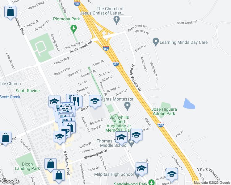 445 Dixon Road, Milpitas CA - Walk Score