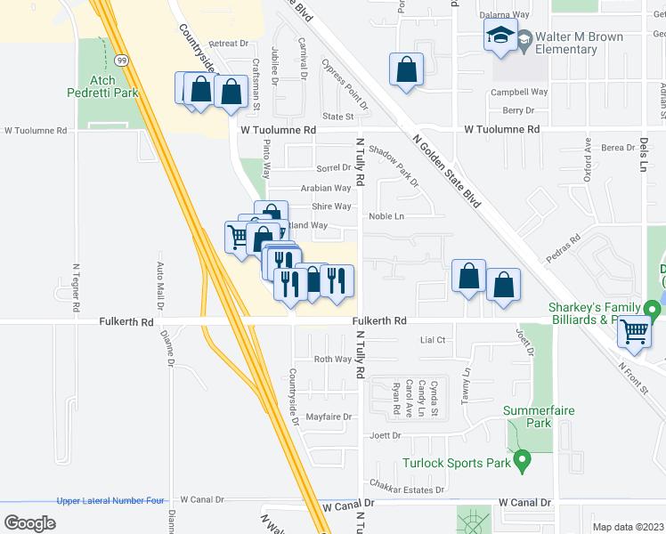 2111 Fulkerth Road, Turlock CA - Walk Score
