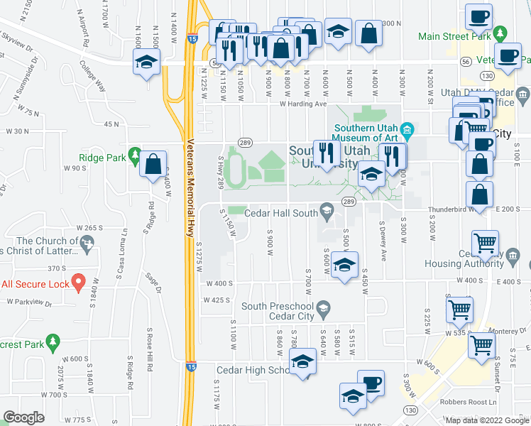 222 South 900 West, Cedar City UT - Walk Score on