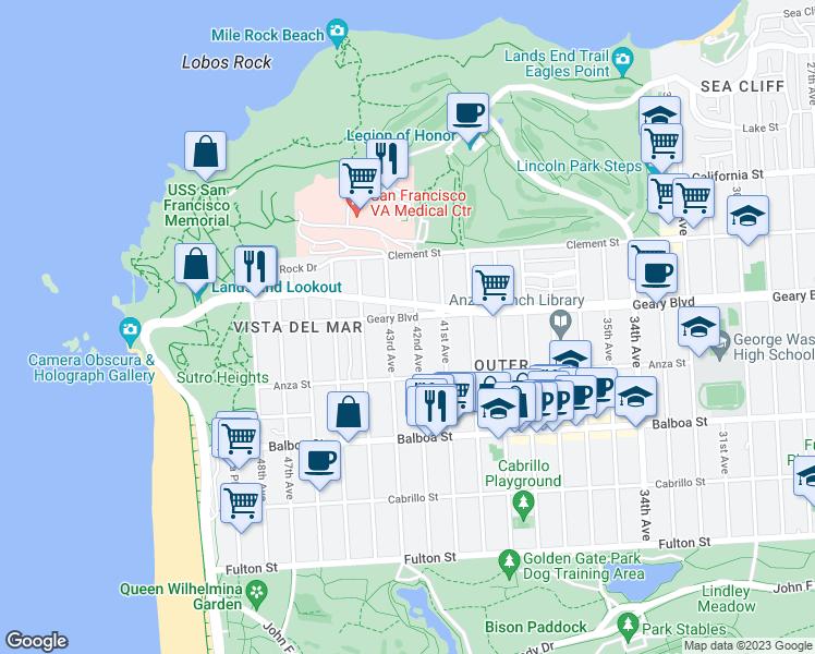 Restaurants Near  Geary St San Francisco