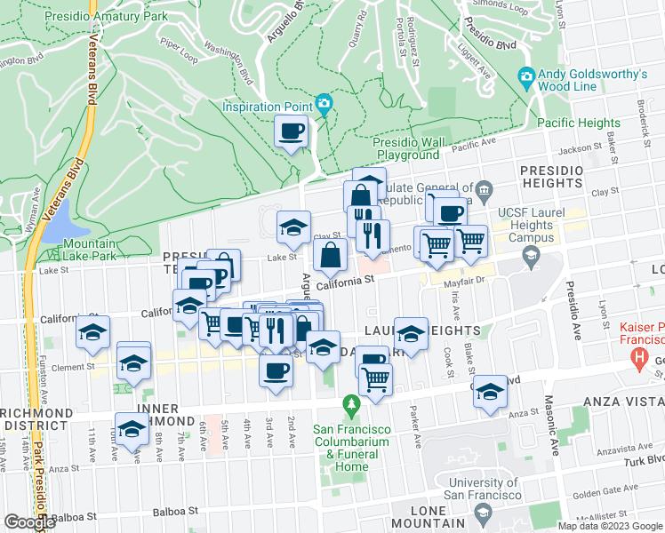 3951 Sacramento Street San Francisco CA  Walk Score