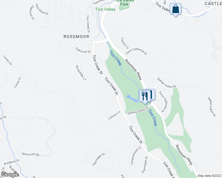 map of restaurants, bars, coffee shops, grocery stores, and more near 1101 Fairlawn Court in Walnut Creek