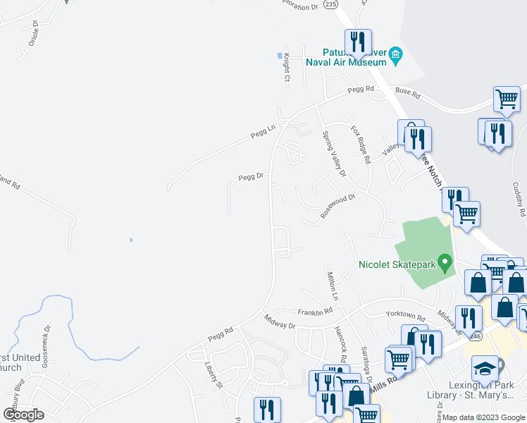 21895 Pegg Road, Lexington Park MD - Walk Score on map of hopkinsville ky, map of chicago il, map of winchester va, map of lexington ky, map of asheville nc, map of pittsburgh pa, map of reston va, map of dover de, map of norfolk va, map of salt lake city ut, map of richmond va, map of fredericksburg va, map of alexandria va, map of arlington tx, map of charlottesville va, map of roanoke va, map of forest acres sc, map of spring tx, map of virginia beach va, map of sandusky oh,