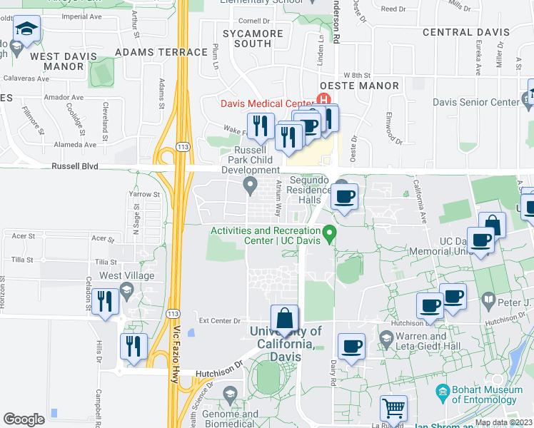 424 Russell Park, Davis CA - Walk Score on