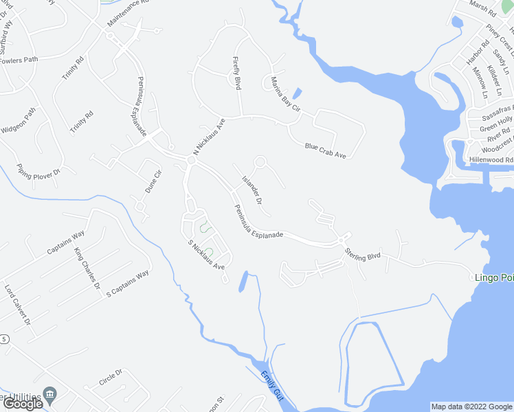 map of restaurants, bars, coffee shops, grocery stores, and more near 33429 Islander Drive in Millsboro