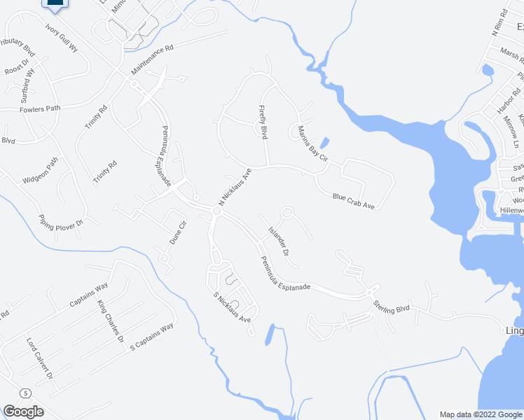 map of restaurants, bars, coffee shops, grocery stores, and more near 33474 Islander Drive in Millsboro