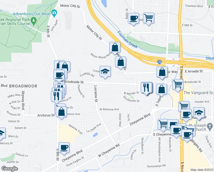 1506 Crestone Avenue Colorado Springs Co Walk Score