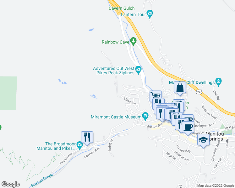 Spruce Trail Manitou Springs Co Walk Score