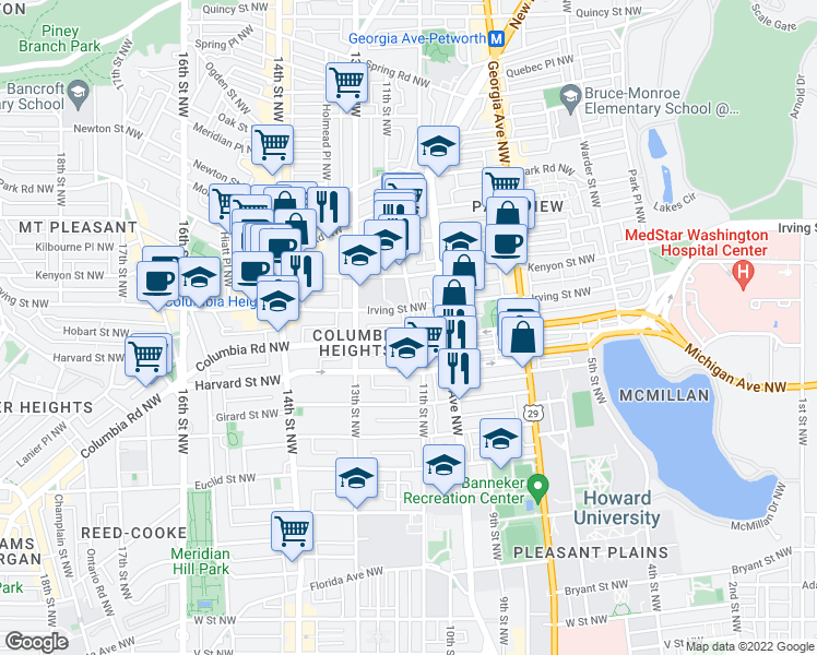 Restaurants Near  C Street Nw