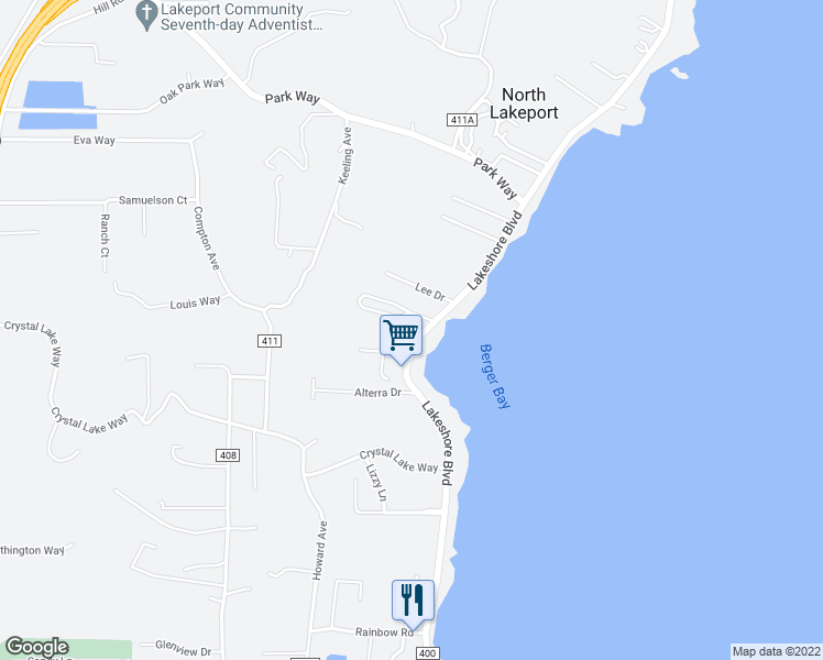 3001 Lakeshore Boulevard Lakeport Ca Walk Score