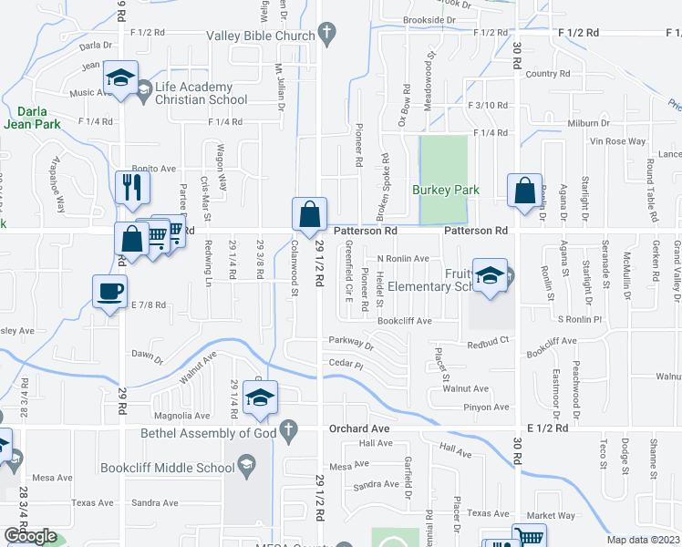 580 Bookcliff Avenue, Grand Junction CO - Walk Score