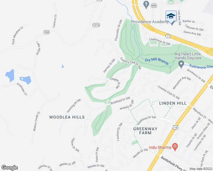 map of restaurants, bars, coffee shops, grocery stores, and more near 1203 Periwinkle Way Southwest in Leesburg