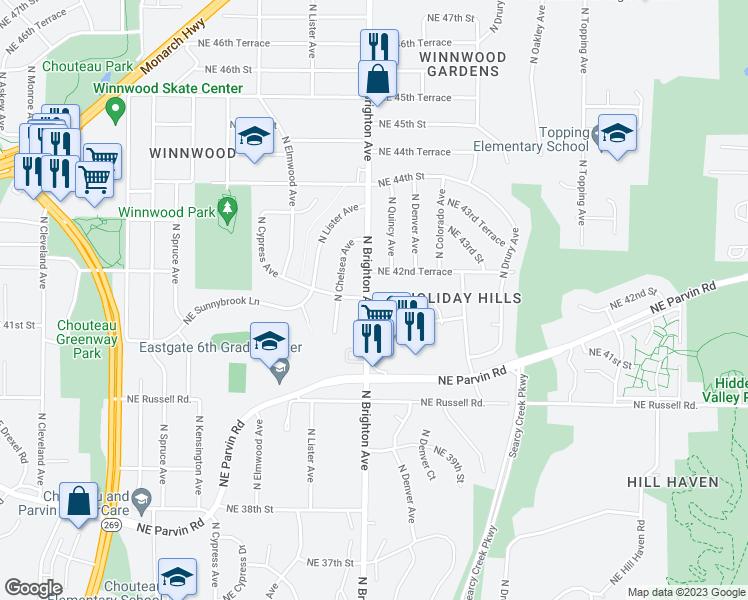 4201 North Brighton Avenue Kansas City Mo Walk Score