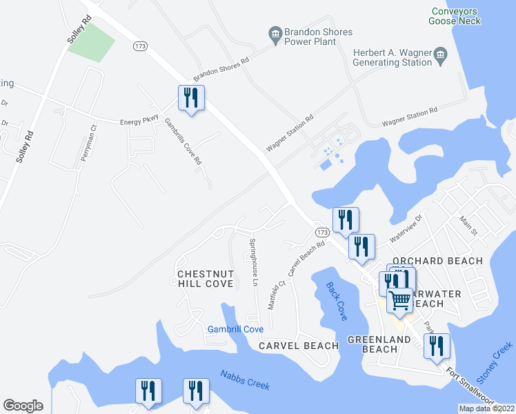 map of restaurants, bars, coffee shops, grocery stores, and more near 932 Chestnut Woods Court in Riviera Beach