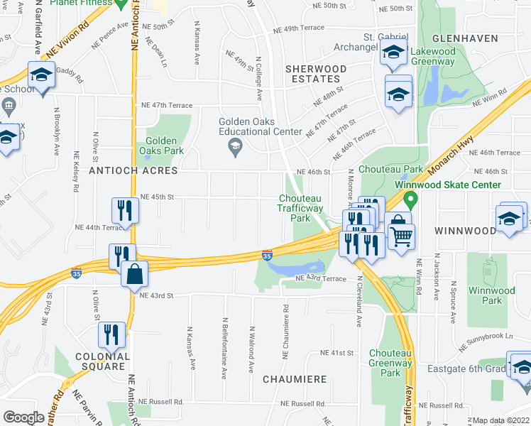 4443 North Walrond Avenue Kansas City Mo Walk Score