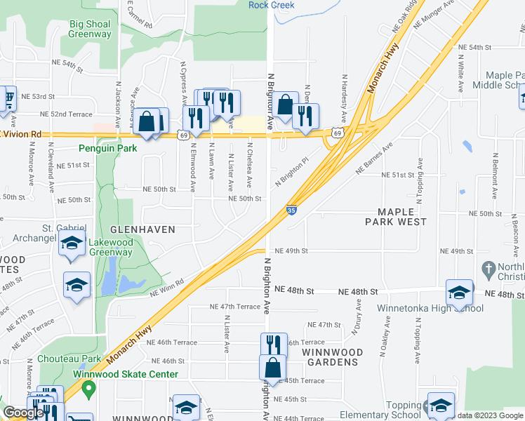 4958 North Brighton Avenue Kansas City Mo Walk Score