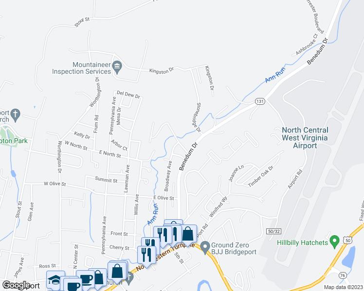 1001 Hall Valley Drive Bridgeport Wv Walk Score