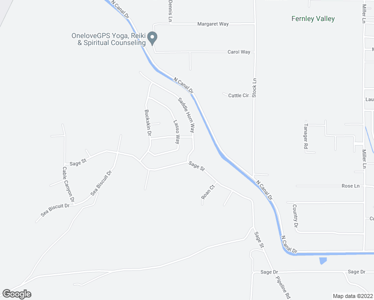 map of restaurants, bars, coffee shops, grocery stores, and more near 684 Saddle Horn Way in Fernley