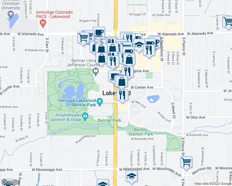 650-670 S Wadsworth Blvd, Lakewood CO - Walk Score