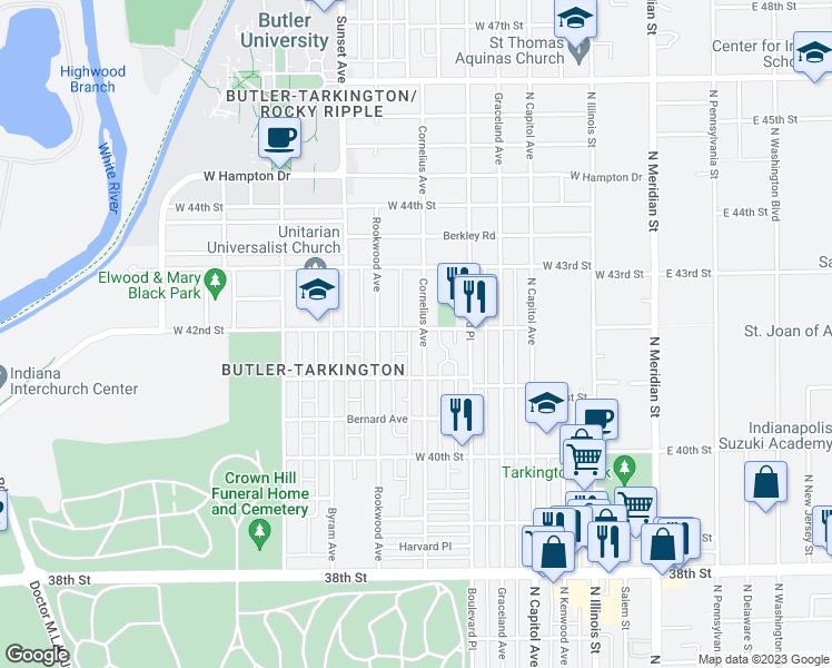 4144 Cornelius Avenue, Indianapolis IN - Walk Score
