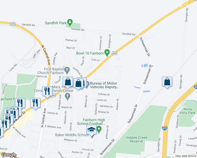 Homes For Sale In Rona Hills Fairborn Ohio