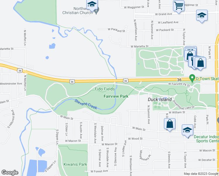 Millikin Campus Map.437 S Boyd Decatur Il Walk Score