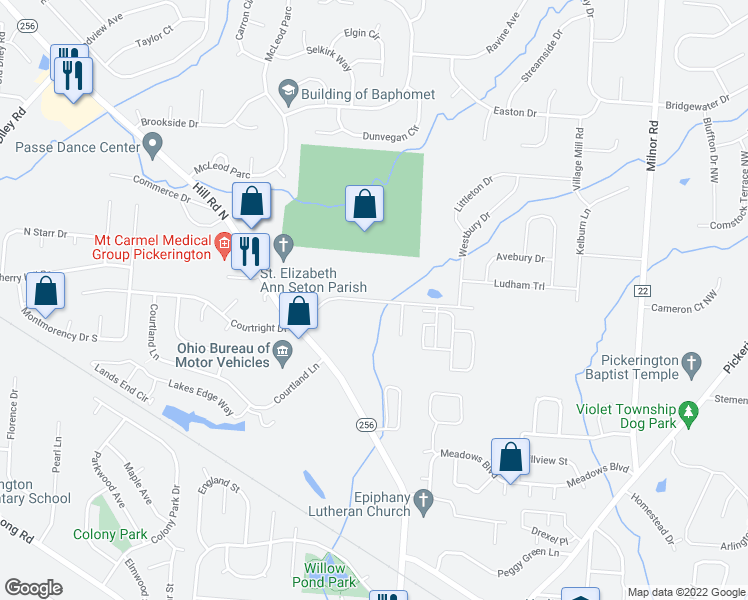 Overland Park Apartments, Pickerington OH - Walk Score