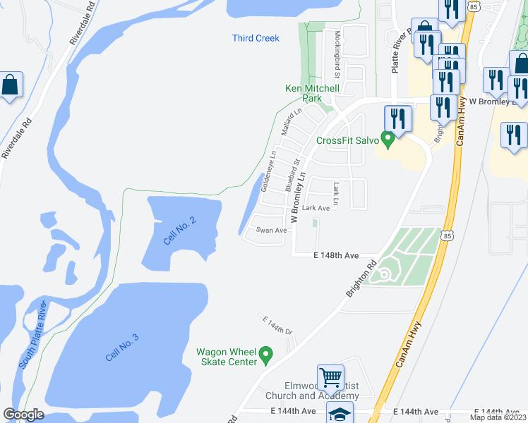 Brighton Colorado Map.1451 Hummingbird Circle Brighton Co Walk Score