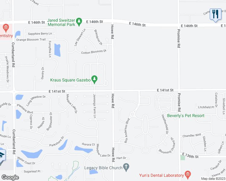 Howe Indiana Map.East 141st Street Howe Road Fishers In Walk Score