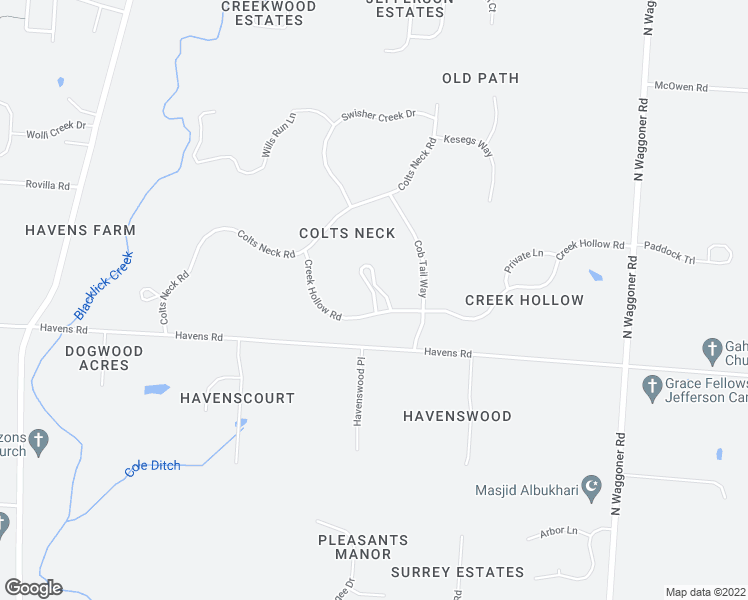 map of restaurants, bars, coffee shops, grocery stores, and more near 751 Chestnut Grove Drive in Blacklick