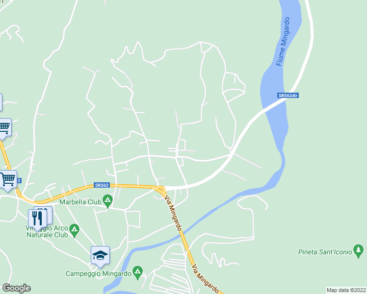 map of restaurants, bars, coffee shops, grocery stores, and more near 2 Località Trivento in Palinuro