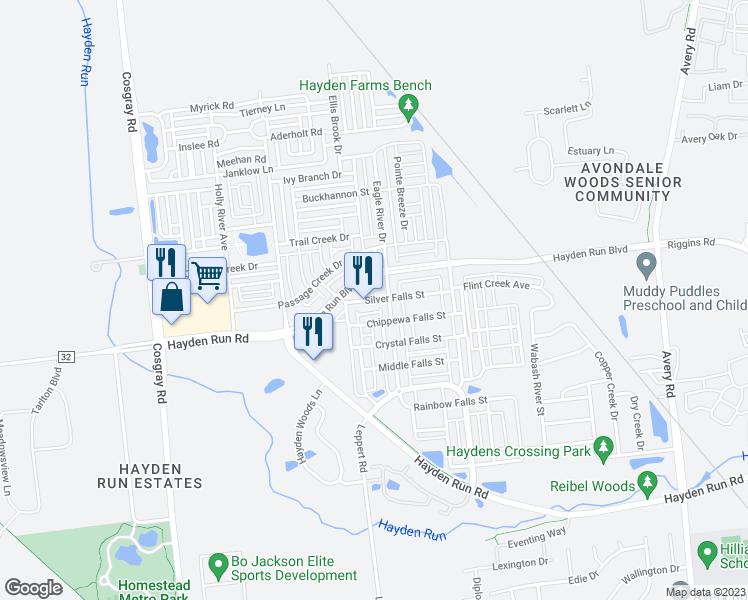 Silver Falls Ohio Map.5730 Silver Falls Street Columbus Oh Walk Score