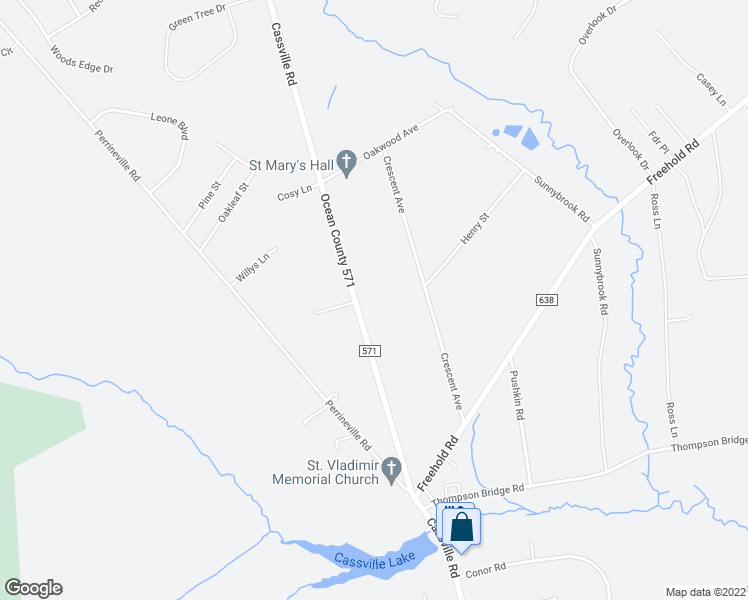 map of restaurants, bars, coffee shops, grocery stores, and more near 221 Cassville Road in Jackson