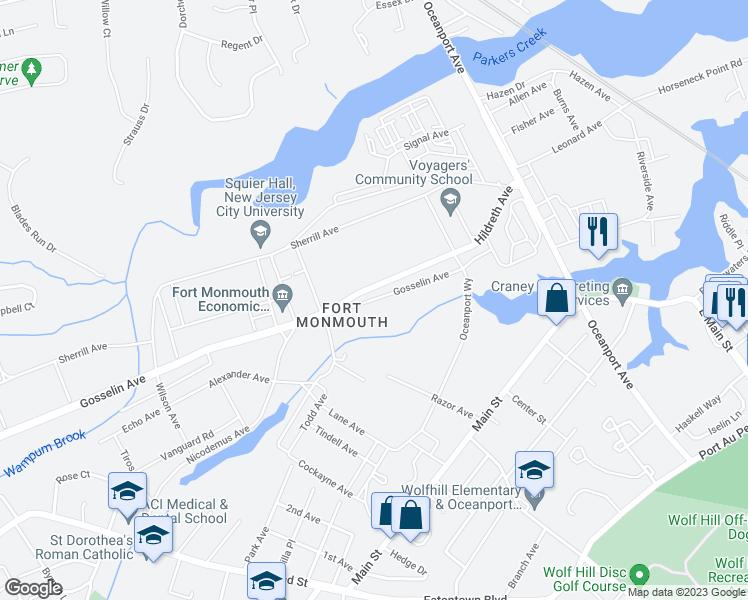 4 Gosselin Avenue, Oceanport NJ - Walk Score