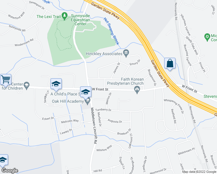 Map Of Apartments Near Me