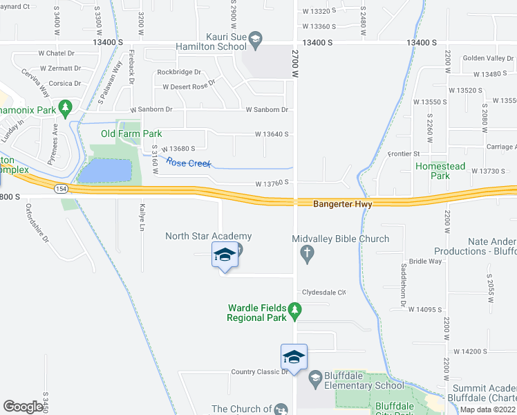 map of restaurants, bars, coffee shops, grocery stores, and more near in Riverton