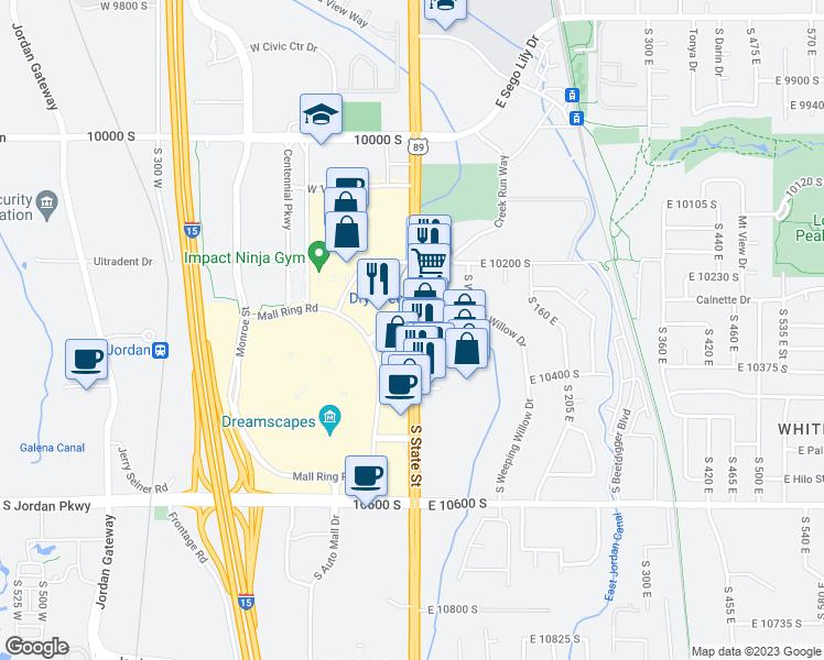 10272-10290 State Street, Sandy UT - Walk Score on summerville sc maps, sandy city street map, sandy oregon maps, spokane wa maps, sandy utah, stockton ca maps, savannah ga maps, springfield il maps,
