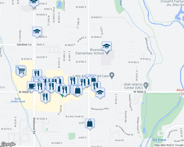 8901 south 1300 west west jordan ut walk score map of restaurants bars coffee shops grocery stores and more near 8901 gumiabroncs Image collections