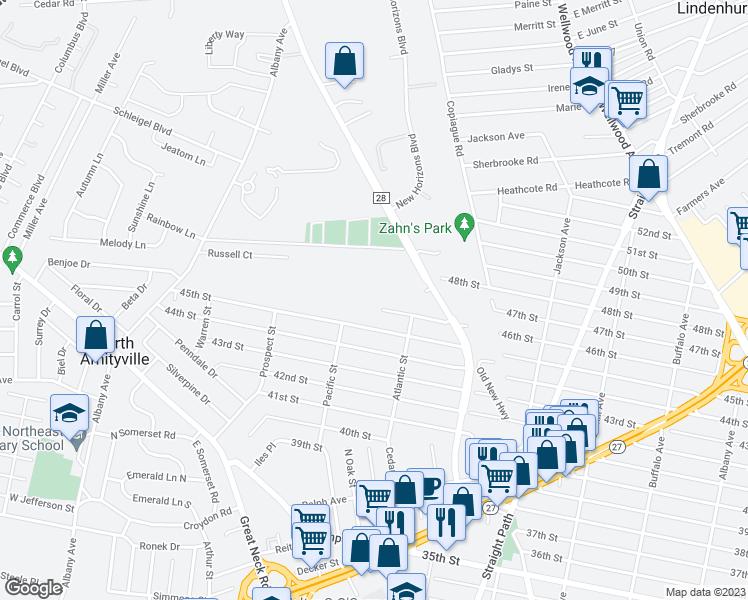 Amityville New York Map.101802 Cassata Drive North Amityville Ny Walk Score