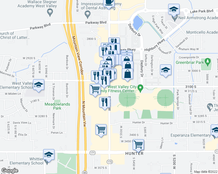 3100 S 5600 W, West Valley City UT - Walk Score Map Of Centennial Park Utah on map of city of centennial services, map of columbia park, map scale amusement park, map of picnic areas at hermann park,