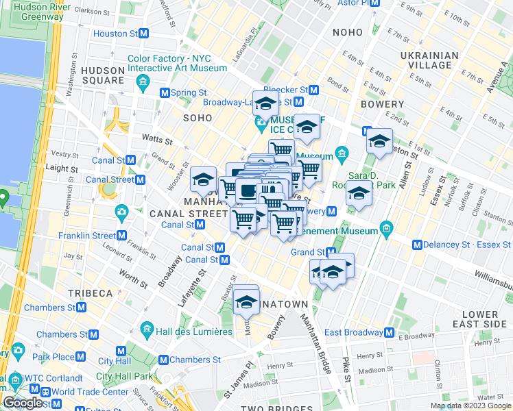 Subway Map Nyc Centre Street.247 Centre Street New York Ny Walk Score